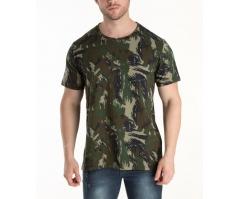 Camiseta Camuflada Marinha