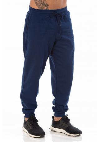 Calça Masculina de Moletom Azul Marinho