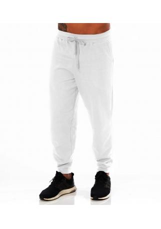 Calça Masculina de Moletom Branco
