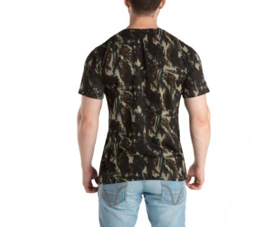 Kit 5 Peças - Camiseta Camuflada Exército
