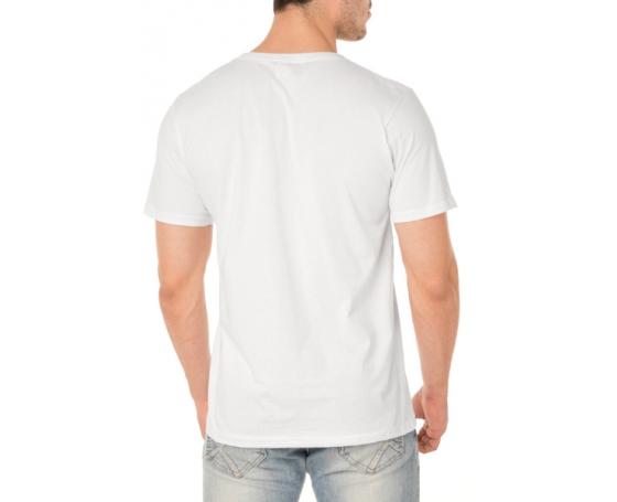 Camiseta de Algodão Premium Branca